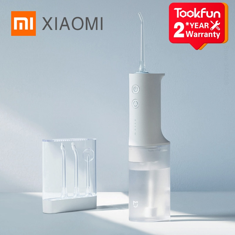 XIAOMI MIJIA MEO701 Portable Oral Irrigator Dental Irrigator Teeth Water Flosser bucal tooth Cleaner waterpulse 200ML 1400/min