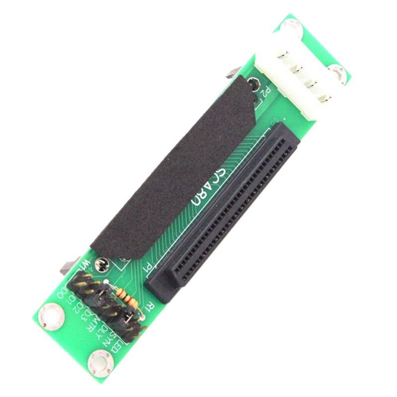 SCSI SCA 80Pin a 68Pin mujer Ultra SCSI II/III/LVD-SE adaptador SCSI 80-68 tarjeta