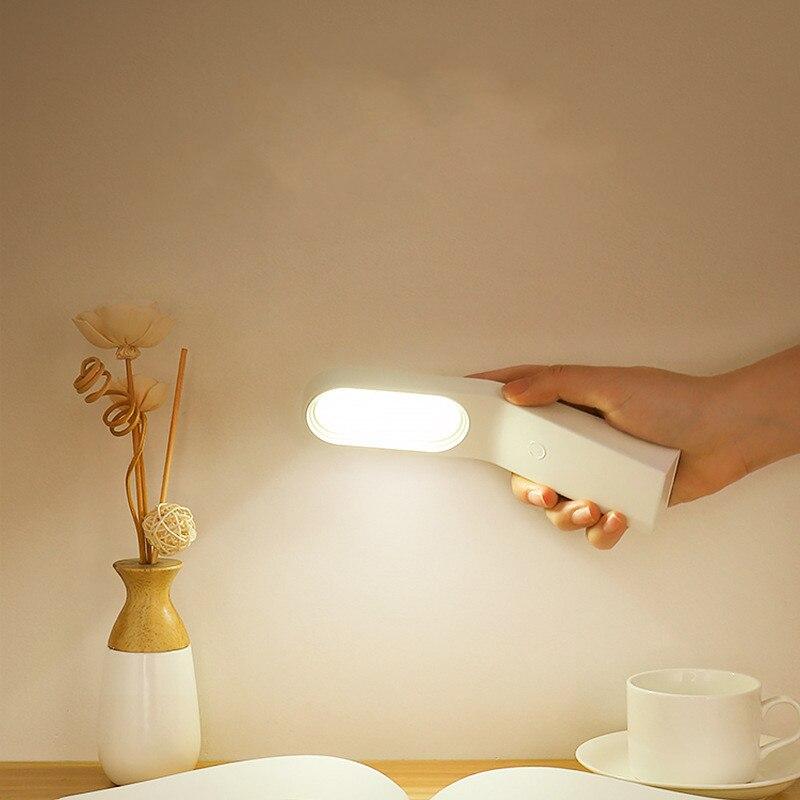 Luz led de libro portátil Flexible luz LED para lámpara brillante Lámpara de lectura de libros magnética para viajes dormitorio libro lector regalos de navidad