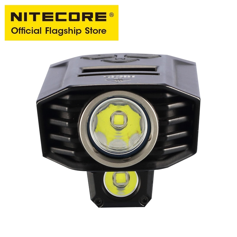 NITECORE BR35 1800 Lumens Bicycle Flashlight Strong Light Near and Far Double Beam Riding Light USB Charge with 6800mAh Battery enlarge