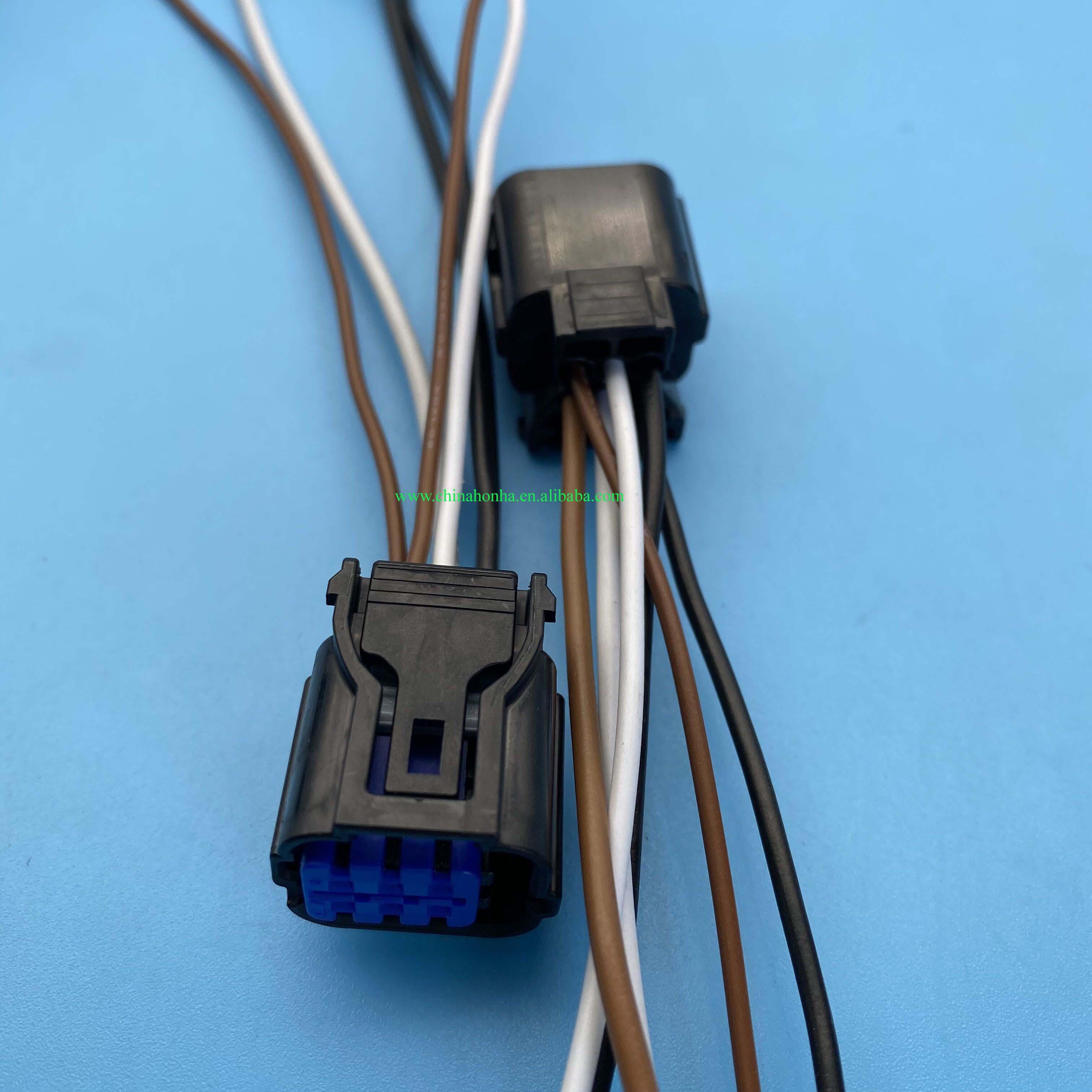6 pin car waterproof plug connector HP285-06021