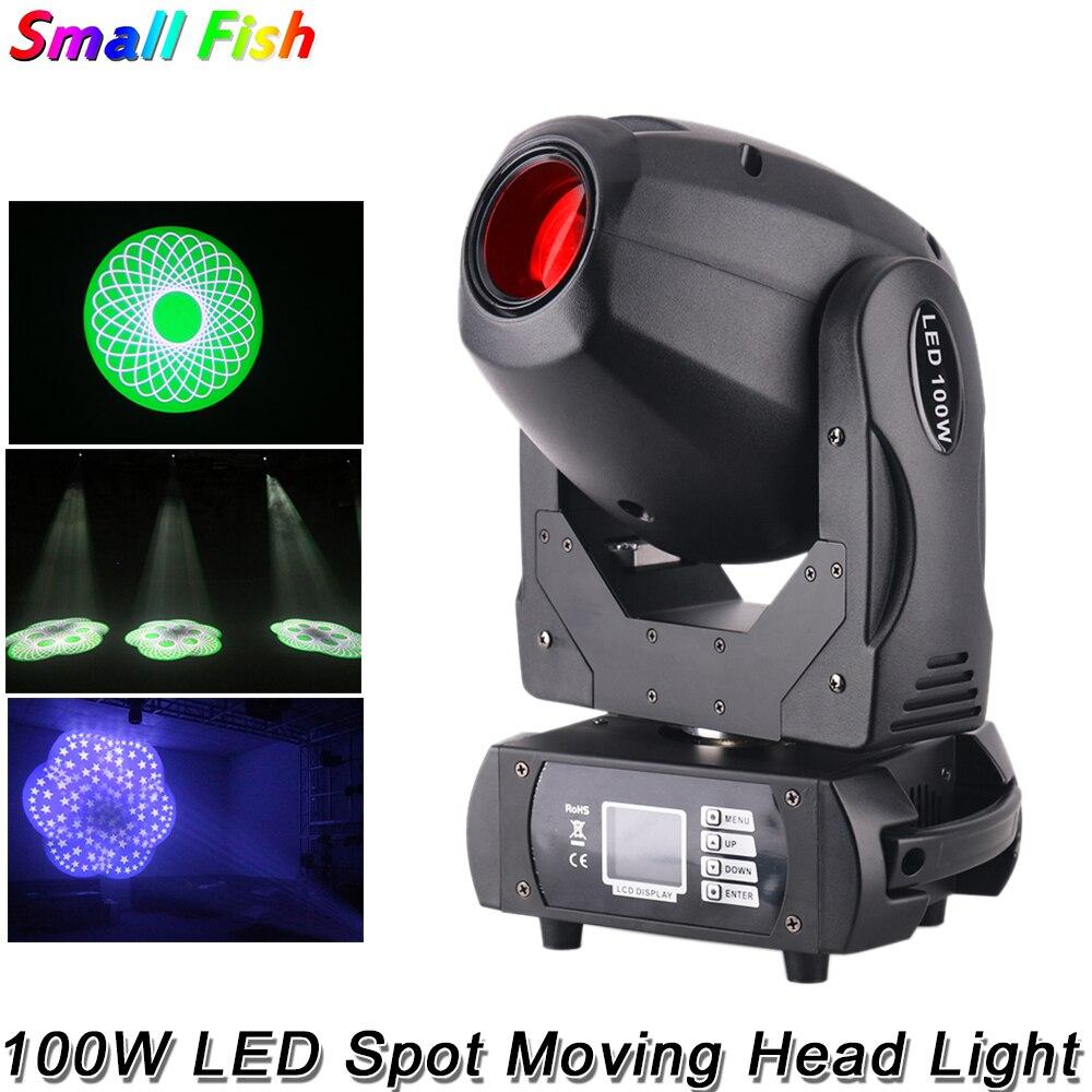 Светодиодный прожсветильник Тор высокой мощности DMX512, 100 Вт, со звуковым управлением