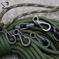 Мини-карабины для альпинизма Gumay SF Пружинные застежки для рюкзака, 10 шт.
