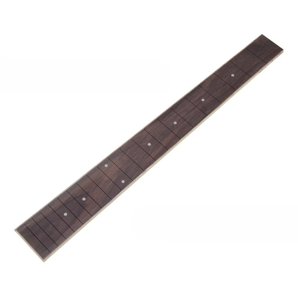 Rosewood Fretboard Guitar Fingerboard For 41inch 20 Frets Acoustic Folk Neck Part DIY 46 X 5.7 X 0.65cm Basses Builder Luthier 22 frets maple guitar neck rosewood fingerboard neck for fender tele replacement guitar accessories parts right handed players