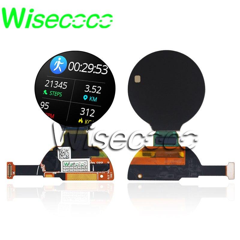 Wisecoco X120BLN02 1,2 дюйма oled круглый микро amoled дисплей 390x390 Круглая Панель модуль для смарт-часов Экран 24-контактный mipi