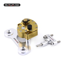 Estabilizador do amortecedor de direção para yamaha xj6/desvio/f xj6n FZ-6R fz6r 09-17 acessórios da motocicleta ajustável invertida segurança