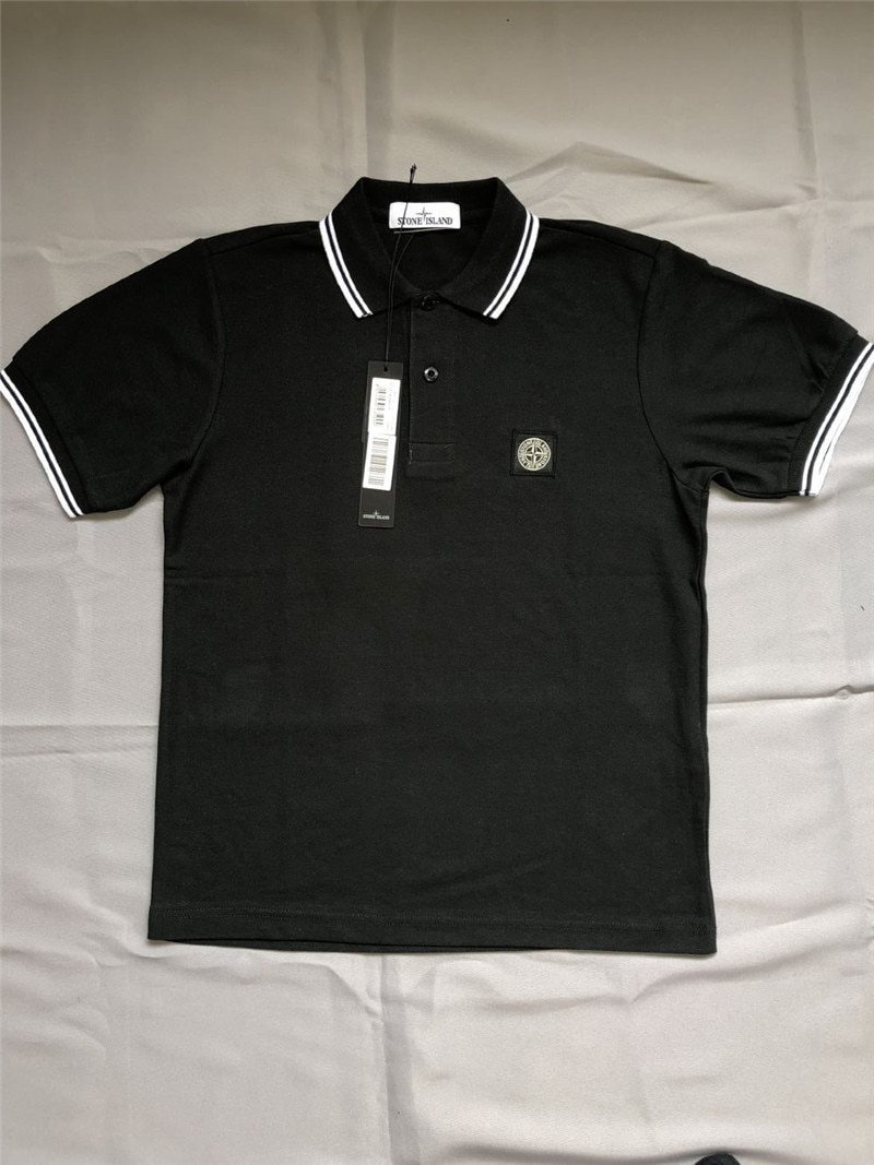 mens short sleeve T-shirt, polo shirt, casual breathable sports T-shirt