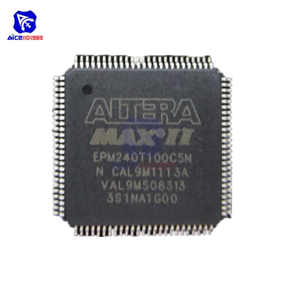 Diymore ic chips epm240t100c5n epm240t100c5 epm240 tqfp100 original circuito integrado