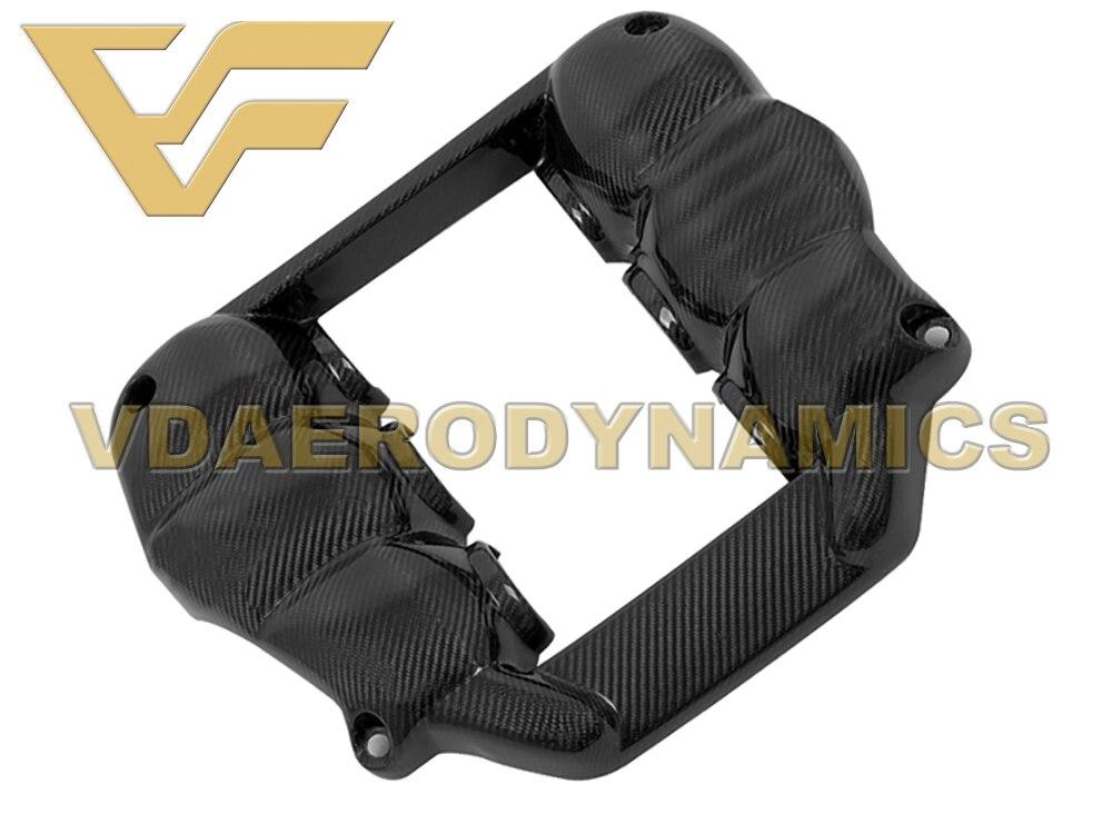 Adecuado para la cubierta del motor de fibra de carbono Nissan GT-R R35 GTR VAD-MNS 08-16