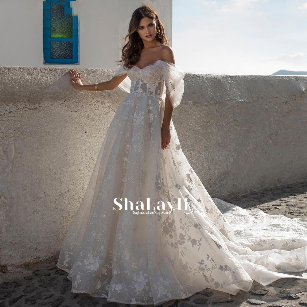 Promo Vintage Mermaid Wedding Dresses Soft Satin Beach Bridal Gowns V-neck Sleeveless Lace Appliques Party Gowns Vestido De Novia