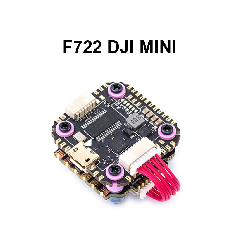 Diatone mamba f722dji mini controle de vôo mk2 com f35 35a 3-6 s esc para rc multicopter zangão rc modelos
