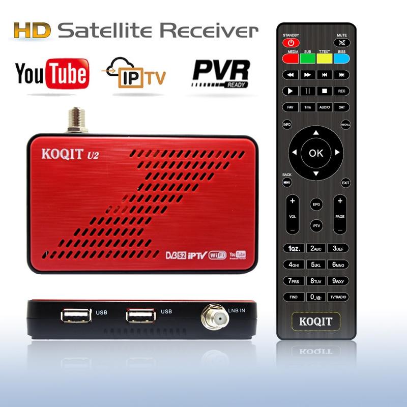 KOQIT DVB S2 IPTV Decoder DVB-S2 Receptor free satellite tv Receiver Satellite Finder IKS/CS Auto Biss VU DVBS2 box Scam Youtube