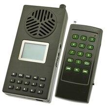 Oie canard oiseau sons oiseau appelant chasse sauvage leurre 157 voix doiseaux haut-parleur télécommande lecteur Mp3 prise ue