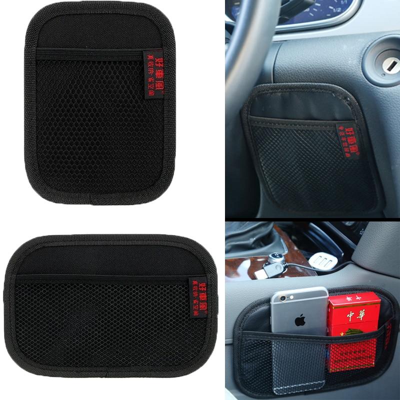 Автомобильная искусственная кожа из микрофибры с высокой вязкостью, многофункциональная автомобильная сетка для хранения, автомобильные ...
