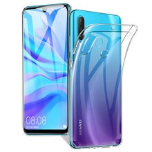 Funda de TPU transparente ultrafina para Huawei P30 P20 Pro Lite, carcasa trasera transparente para Huawei Mate 8 9 10 30 lite