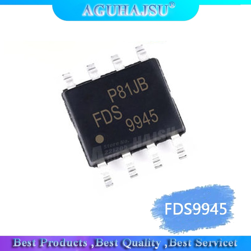 1 unids/lote FDS9945 LCD de alta tensión MOS tubo FDS9945N 9945N AO9945 SI9945 original