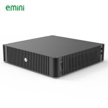 Тонкий алюминиевый чехол E.mini N44 Mini-ITX для игрового компьютера HTPC без блока питания