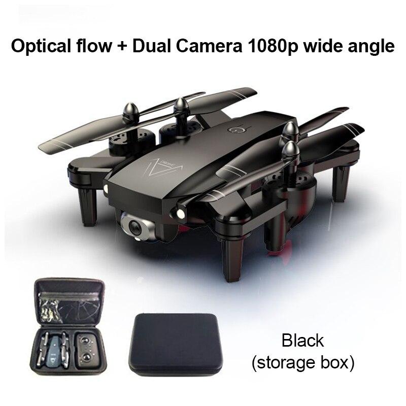 طائرة بدون طيار قابلة للطي L103 ، أربعة محاور ، إيماءات ، تصوير جوي ، جهاز تحكم عن بعد ، تدفق بصري ، كاميرا مزدوجة ، 4K