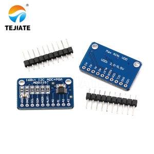 1PCS 4-channel ADS1115 Super-small Type 16 bit High Precision ADC Development Board Module Unit
