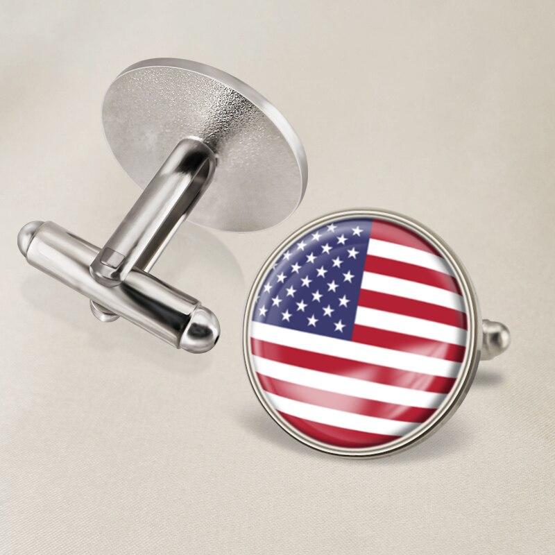 Gemelos con bandera de Estados Unidos, América, EE. UU.