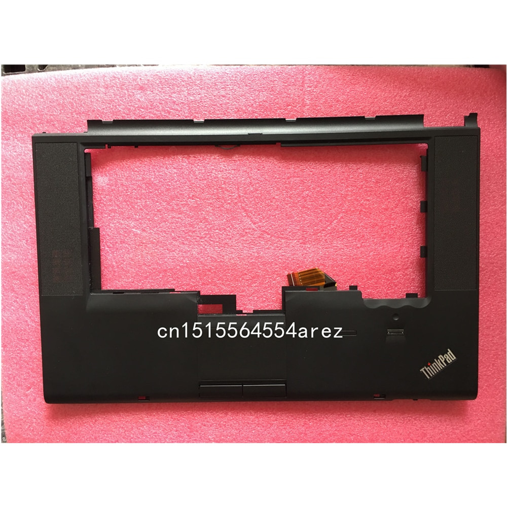 Novo portátil original lenovo thinkpad t510 w510 touchpad fp palmrest capa/o teclado capa caso 60y5504