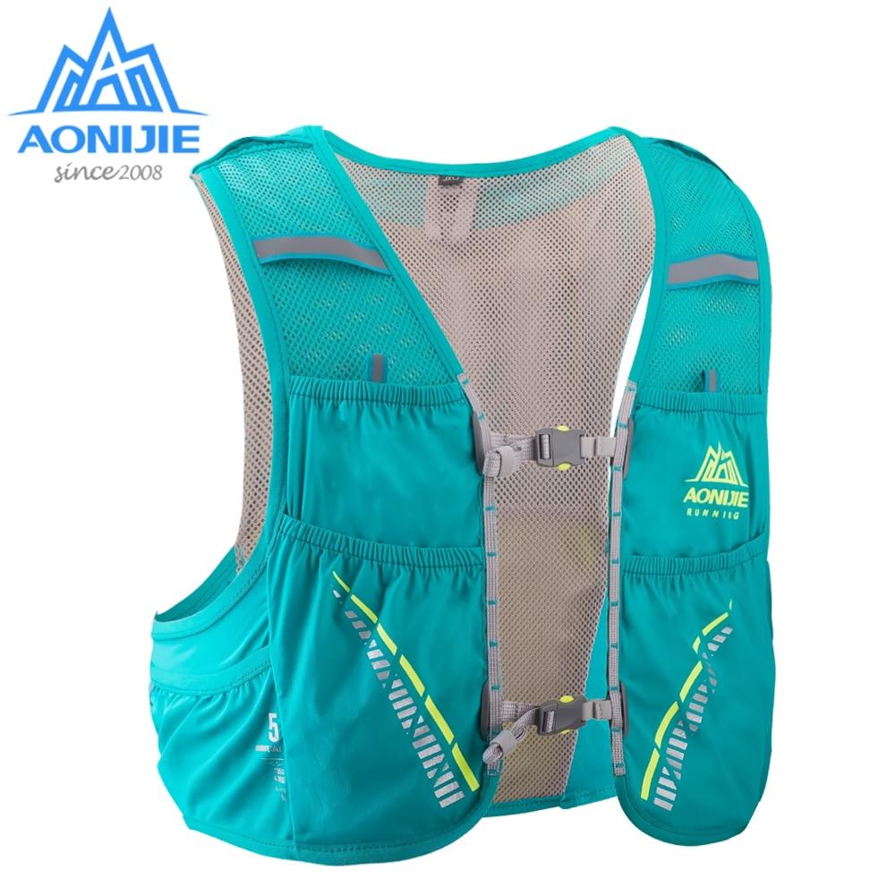 Рюкзак AONIJIE C933 на 5 л с гидратацией, сумка, жилет, жгут с водным пузырьком, наборы для пешего туризма, бега, марафона, гоночных катушек
