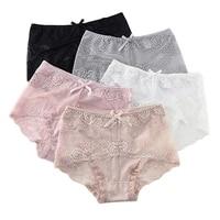 m xxxl womens panty modal high waist panties female sexy lace transparent cutout seamless briefs