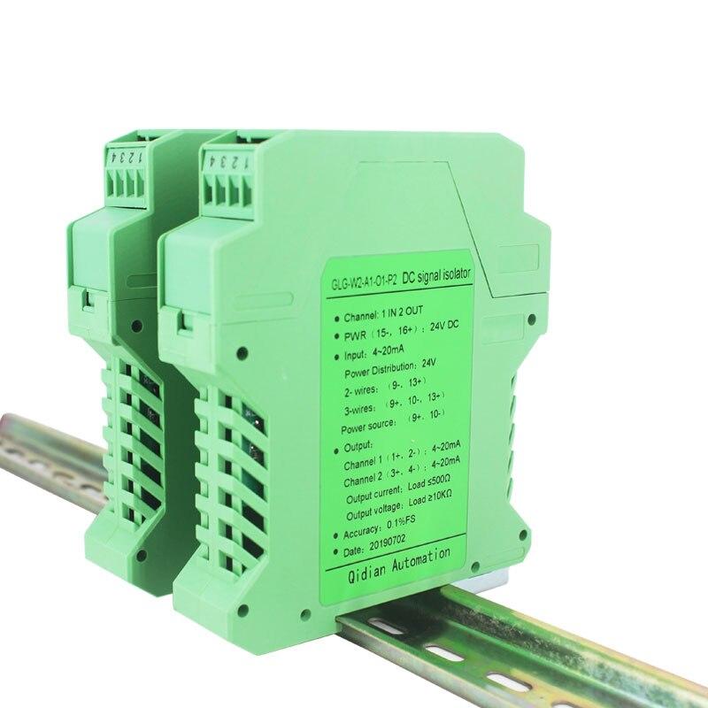 GLG Signal Iaolator 4-20mA Analog Signal Isolation Multi-channels DC 4-20mA Signal Converter