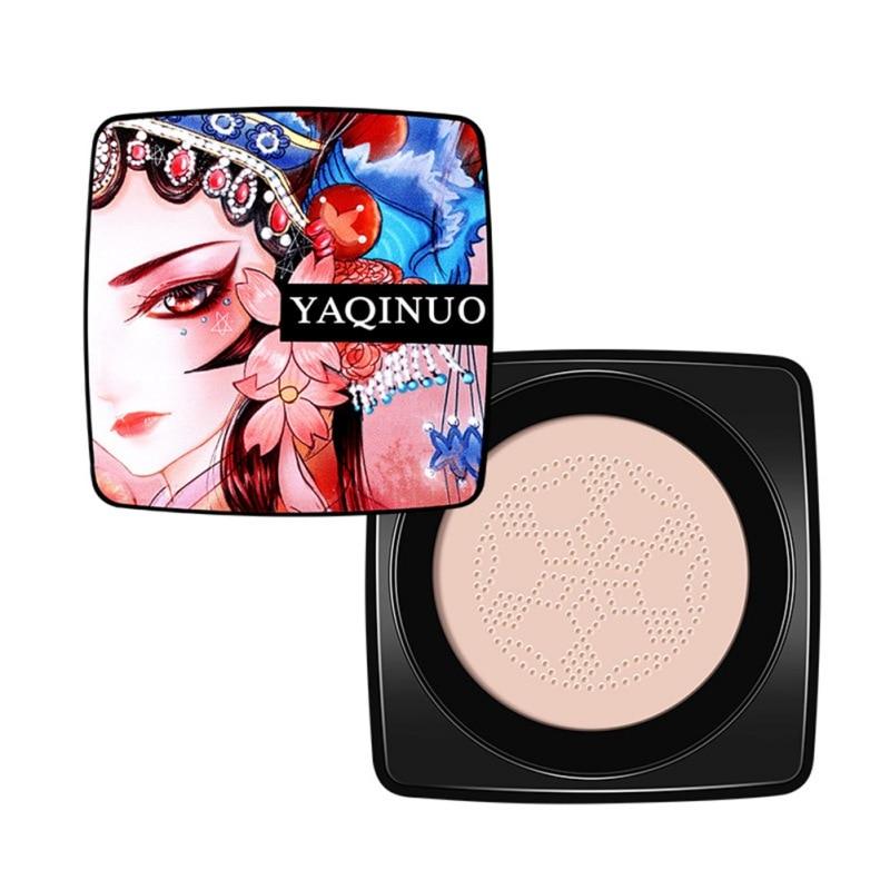 Nueva cabeza de seta cojín de aire crema BB hidratante base aire-permeable Natural brillo maquillaje CC crema