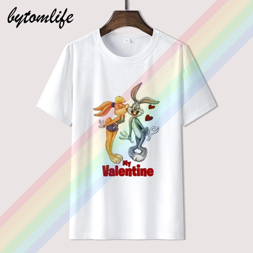 ¡Novedad de 2020! Camiseta de algodón con cuello redondo para hombre, con estampado de caricaturas, castigo, de Bugs, 100%