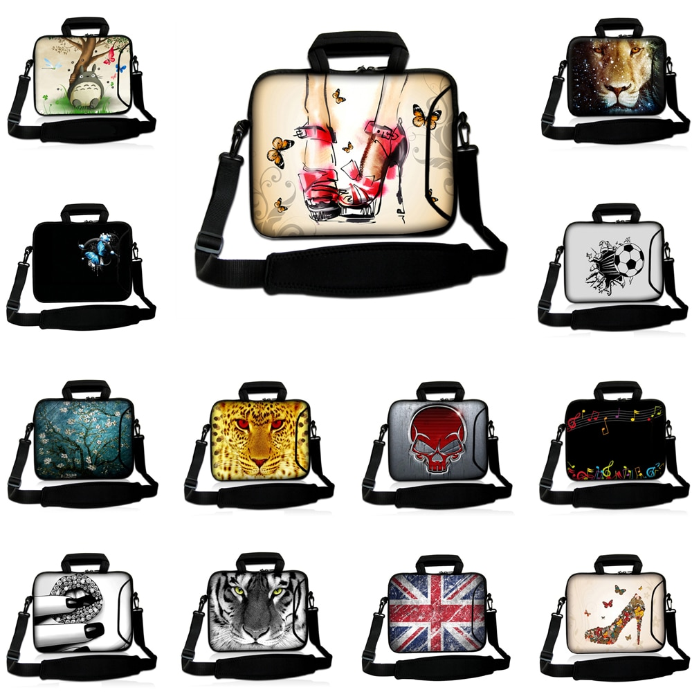 Capa Para Notbook Messenger Briefcase 10 12 13 14 15 14.1 15.6 15.4 17 Laptop Chromebook Carry Bag C