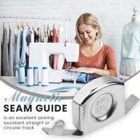 magnetic seam guide 2pcs sewing machine presser accessories magnet sewing gauge diy sewing diy machine gauge presser in stock