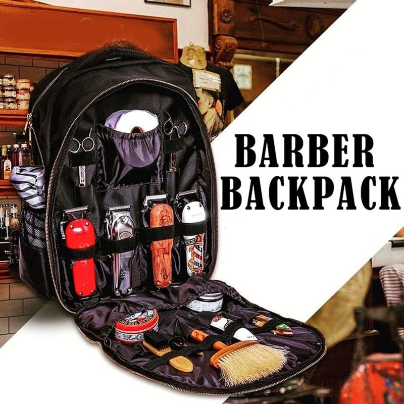 Barber Carrying Case for WAHL Barber Styling Tools Accessories Large Capacity Storage Backpack Trave