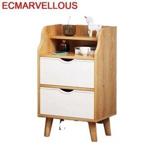 Maison Mesillas De Noche Para El Side Recamaras Dormitorio Meble Bedroom Furniture Quarto Night Stand Cabinet Bedside Table