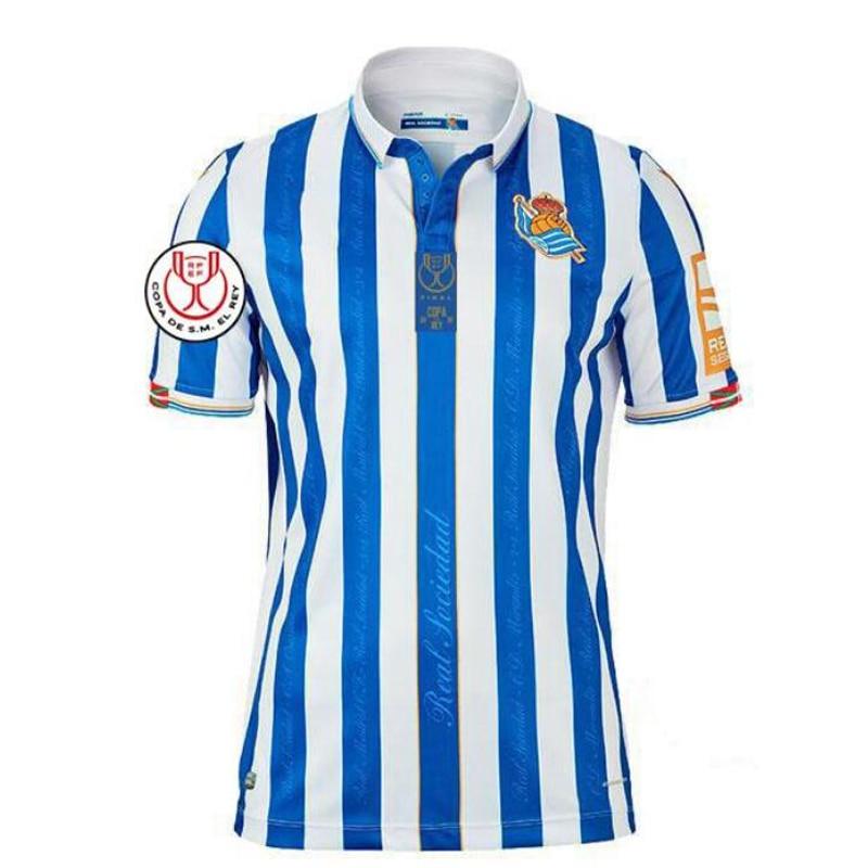 Camiseta De fútbol De la Real Sociedad, Copa del Rey, versión OYARZABAL,...