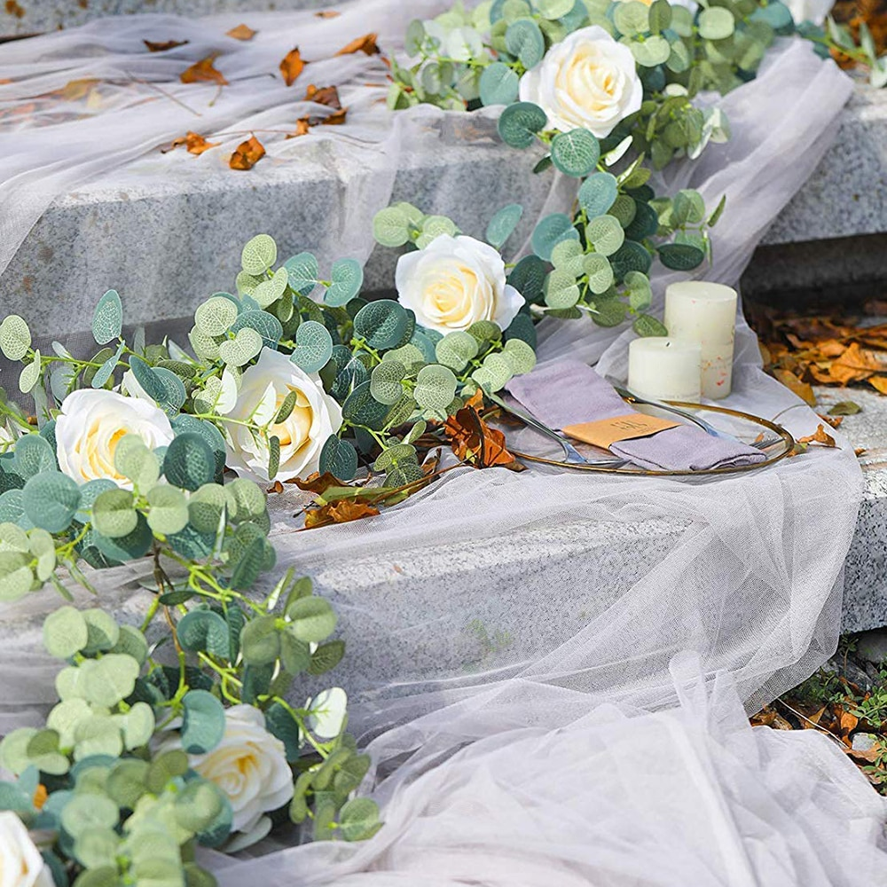 Silk Künstliche Rose Reben Hängen Blumen Dekorative Faux Pflanzen Blatt Gefälschte Rattan Romantische Garland Hochzeit Home Wand Dekoration