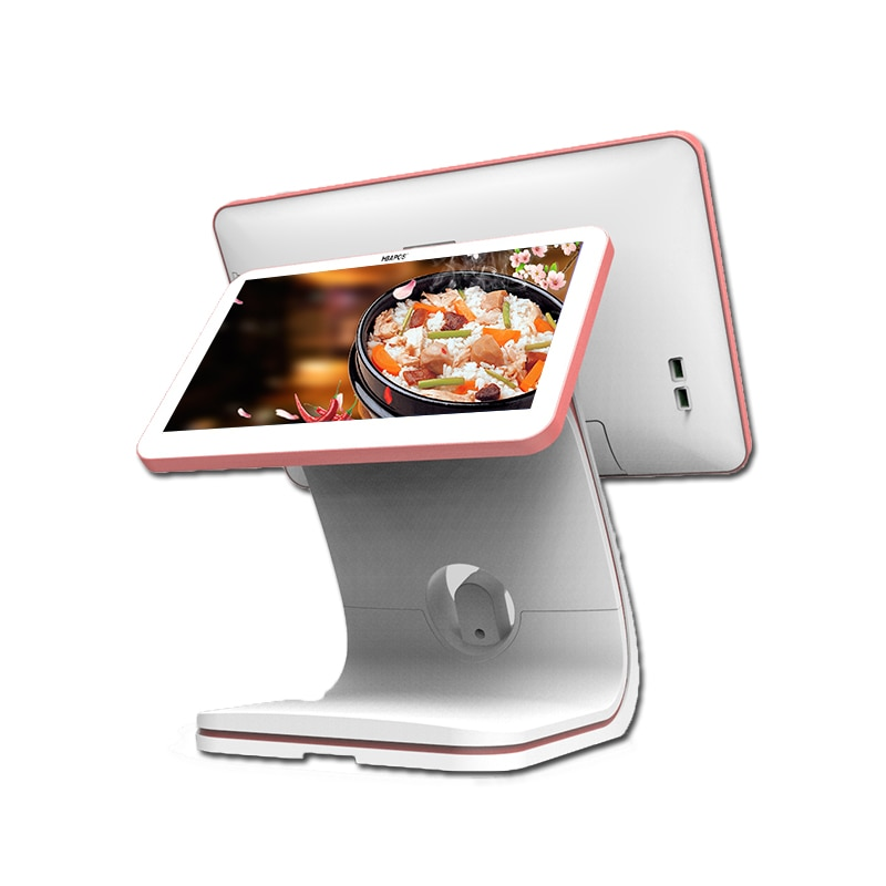 Pos Terminal for Touch Screen Dual Display Retail Cash Register 15.6 Inch Windows Pos Machines For Restaurant And Retail Indust enlarge