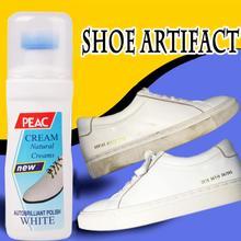 Magic Verfrist Witte Schoen Cleaner Crème Voor Handtassen Kleding Lederen Schoen Tool Kit Producten #85238