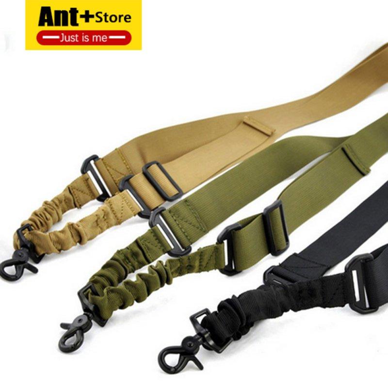 Nuevos suministros de caza de nylon ajustable multifunción táctico de un solo punto bungee pistola de aire sling