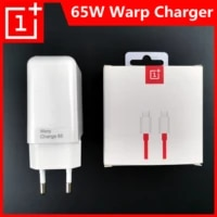 oneplus 9 pro original warp charger 65w eu plug 6a type c to type c cable 100cm power adapter for oneplus 9r 8t 9
