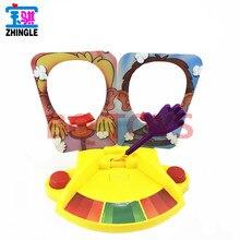 Jeu de fête adulte enfants fête danniversaire bureau drôle divertissement jeu Double joie visage-pat jouet