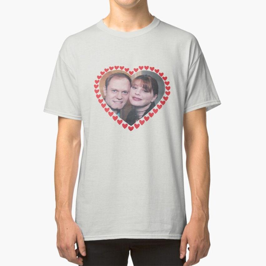 Daphne & Amp ; Niles футболка Frasier Niles Crane Daphne Moon Otp ТВ шоу Crane David Hyde Pierce 90s Hearts