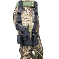 tactical pistol holster hunting pistol gun case thigh holster army right side compact hand gun belt leg holster hk usp