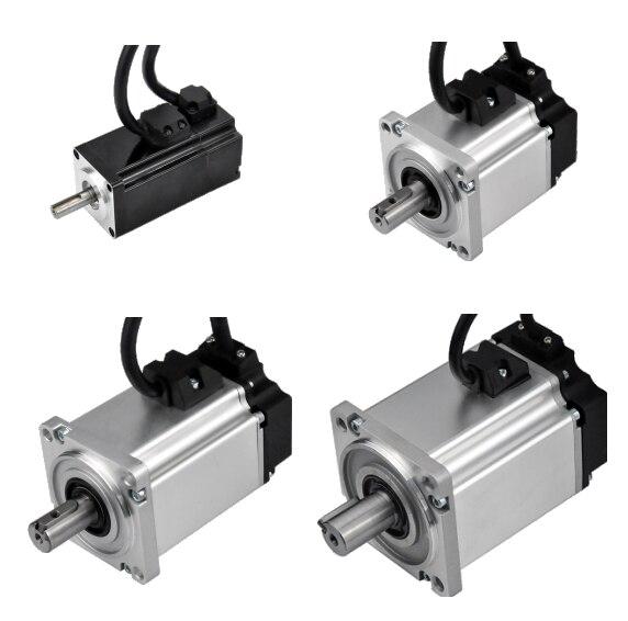 TSN سلسلة BLDC فرش تيار مستمر محرك معزز 48 فولت منخفضة الضوضاء مع التشفير 200 واط