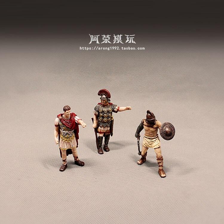 Medieval Rom Castle Ritter Miniatur Spartan Krieger Kreuzfahrer Kavallerie Schutz Soldat Pirate Action Figur Figur Modell Spielzeug