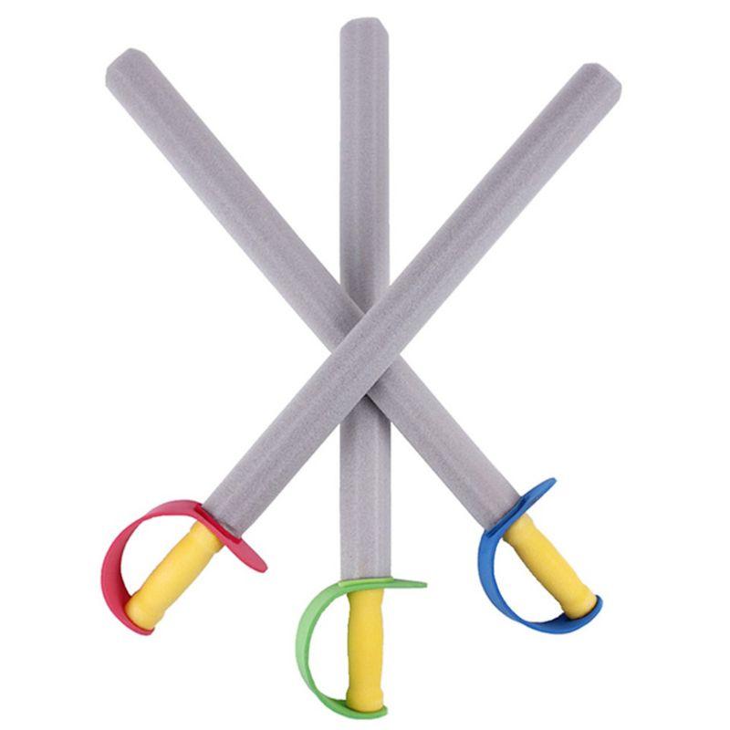 4Pcs/Set Creative EVA Foam Sword Knife Weapon Safe Performance Props Cosplay Toy