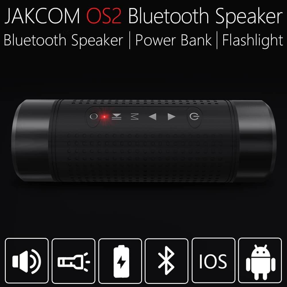 JAKCOM OS2 altavoz inalámbrico al aire libre nueva llegada como mezclador amplificador profesional bang y olufsen 18650 powerbank caso flip 5