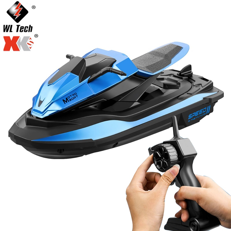 2021New S9 Remote Control Boat 2.4Ghz Motorcycle Speedboat Radio Remote Control Boat Toys For Childr