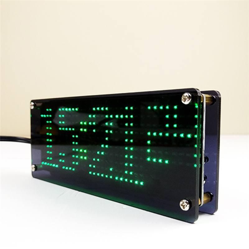 SMD LED Dot Matrixs, Kit de producción de reloj Digital, Kit de reloj electrónico DIY, accesorios de piezas de producción electrónica
