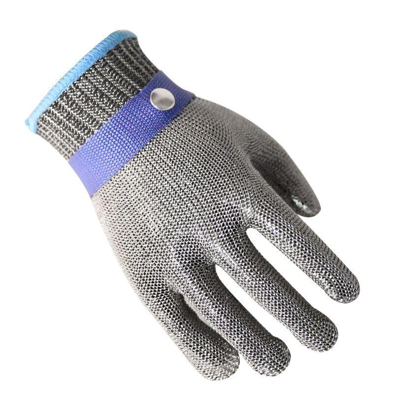 Gants de sécurité en acier inoxydable résistants aux coupures, maille métallique Anti-découpe, pour bouchers, 1 pièce